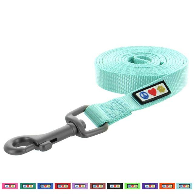 Pawtitas Pet Soft Adjustable Nylon Cat Leash